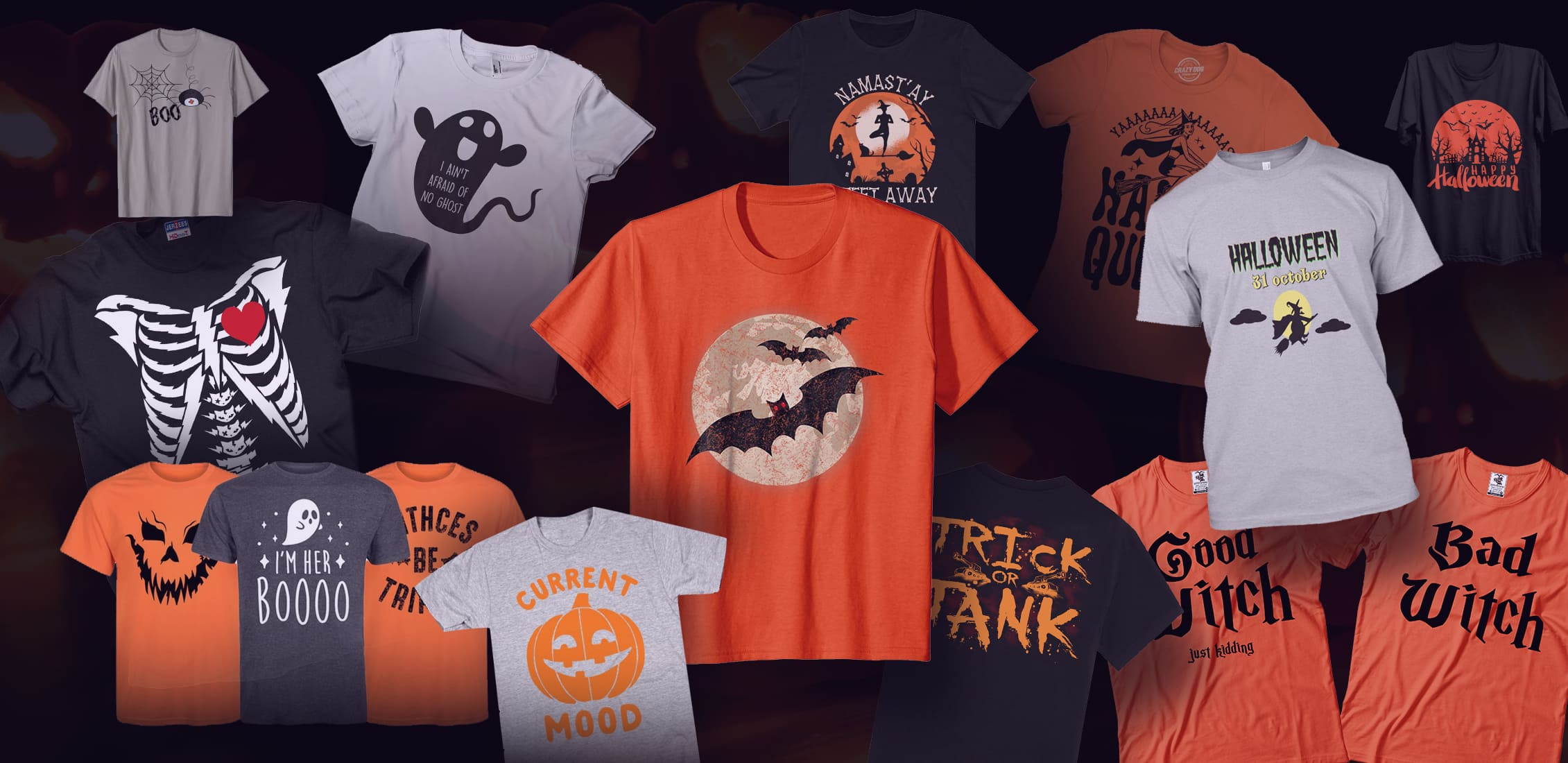50+ Best T-Shirts 2021. Best T-Shirt Design Ideas For You - halloween t shirts