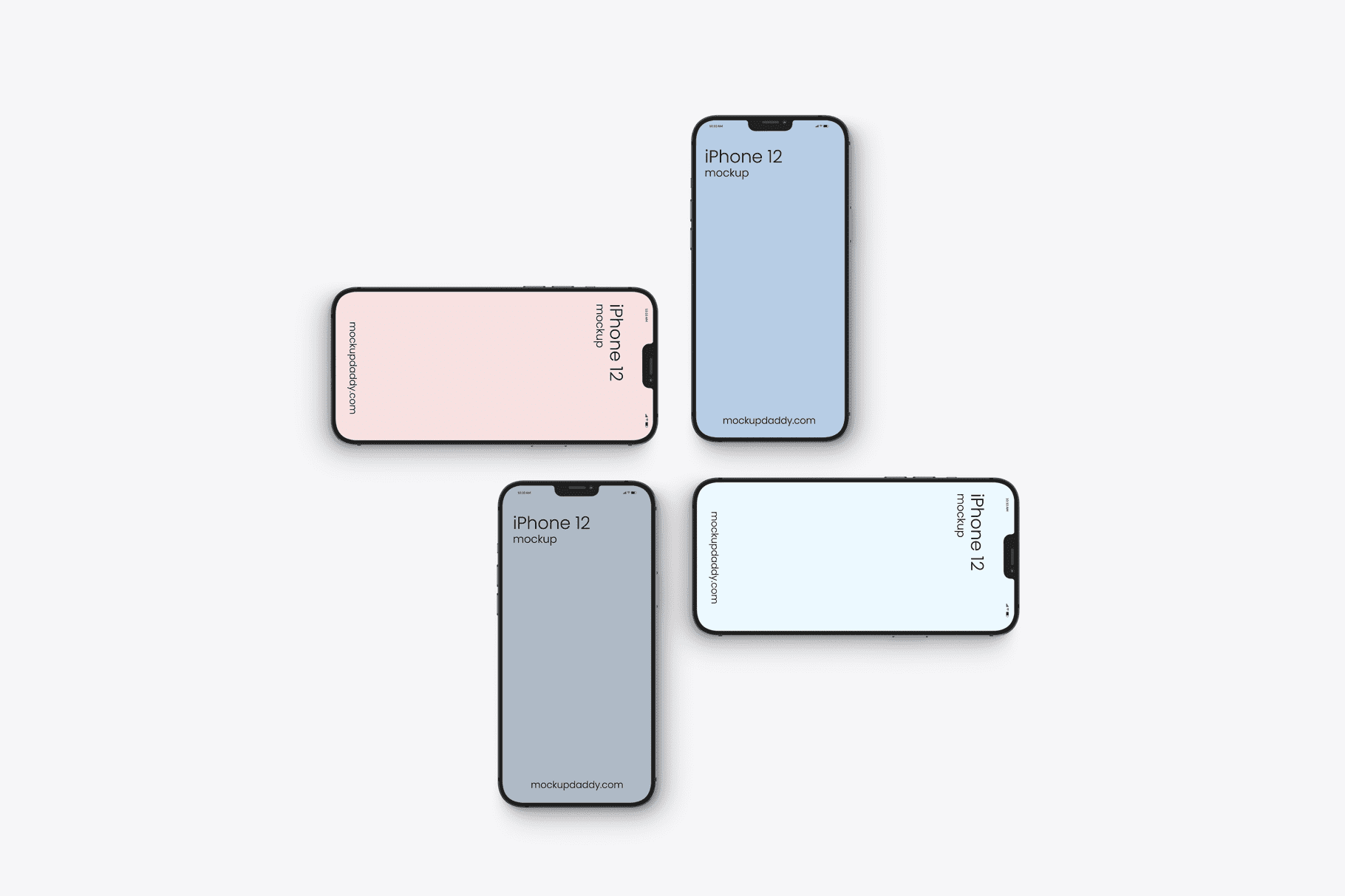 10+ iPhone 12 Mockups: Mini, Pro, Max. Free and Premium. Be In Trend With New Technology - iphone 12 10
