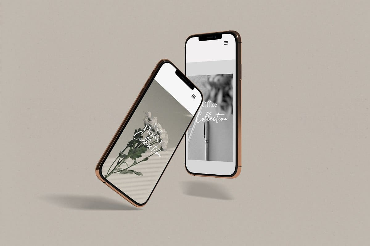 10+ iPhone 12 Mockups: Mini, Pro, Max. Free and Premium. Be In Trend With New Technology - iphone 12 11