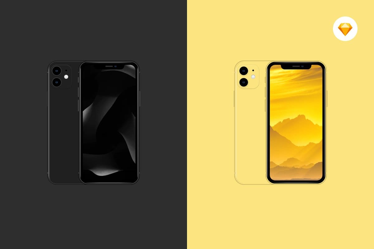 10+ iPhone 12 Mockups: Mini, Pro, Max. Free and Premium. Be In Trend With New Technology - iphone 12 14