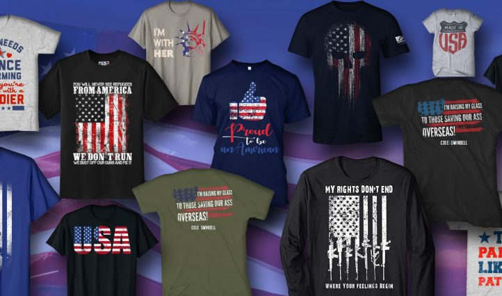 Examples Best Patriotic T-shirts
