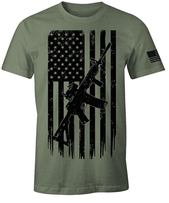 100+ Patriotic T-shirts for Men, Women, and Kids + 35 Mesmerizing T-shirt Designs 2021 - t 24 1