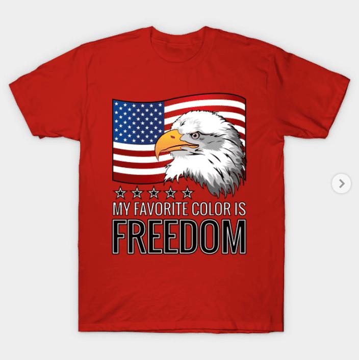 100+ Patriotic T-shirts for Men, Women, and Kids + 35 Mesmerizing T-shirt Designs 2021 - t 27 1