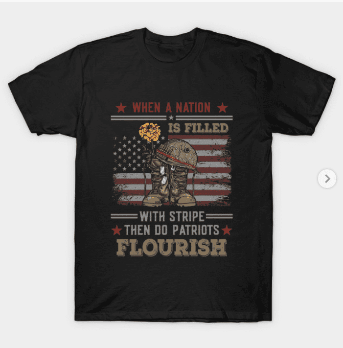 100+ Patriotic T-shirts for Men, Women, and Kids + 35 Mesmerizing T-shirt Designs 2021 - t 29 1