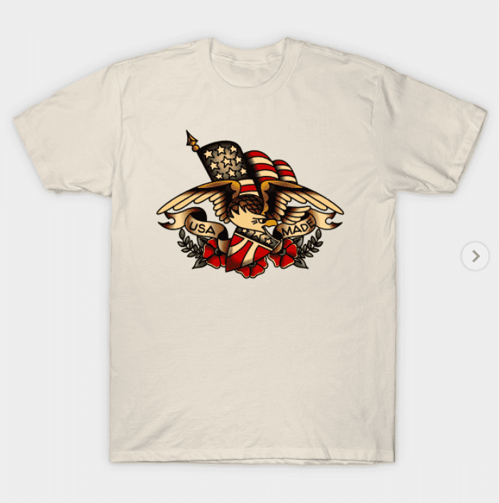 100+ Patriotic T-shirts for Men, Women, and Kids + 35 Mesmerizing T-shirt Designs 2021 - t 31 1