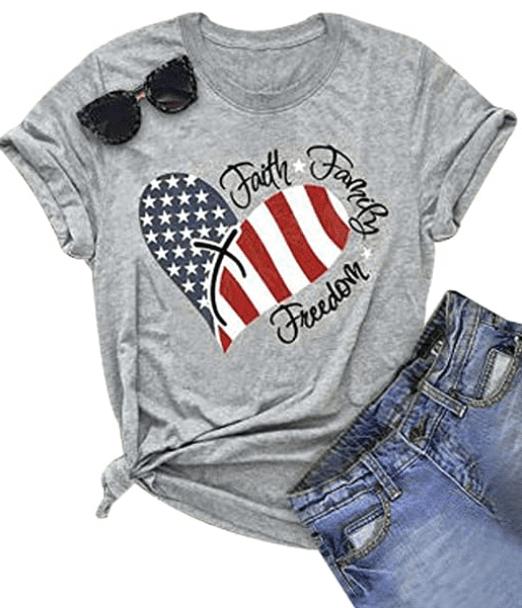 100+ Patriotic T-shirts for Men, Women, and Kids + 35 Mesmerizing T-shirt Designs 2021 - t 41 1