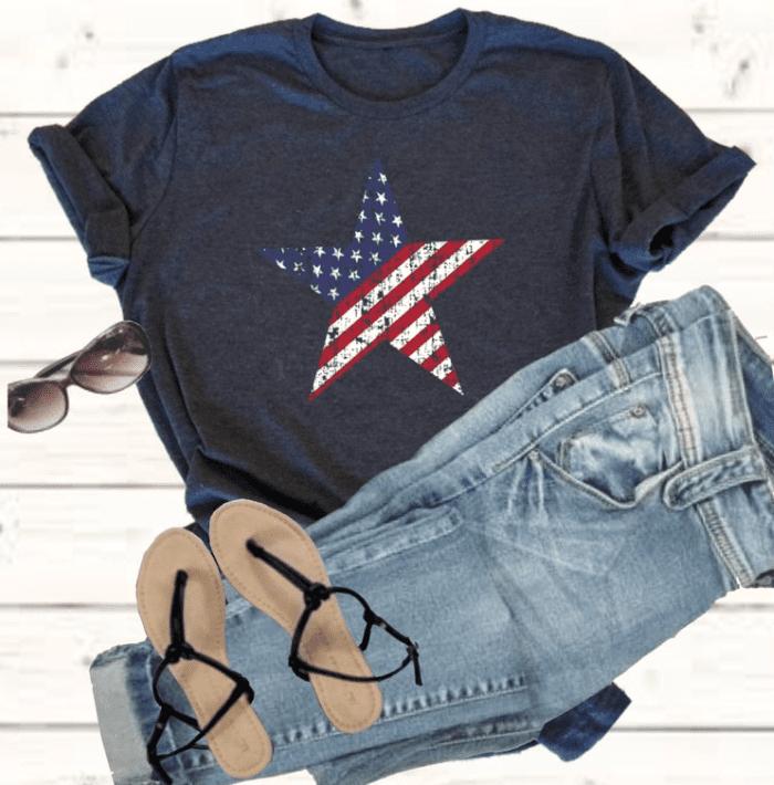 100+ Patriotic T-shirts for Men, Women, and Kids + 35 Mesmerizing T-shirt Designs 2021 - t 61