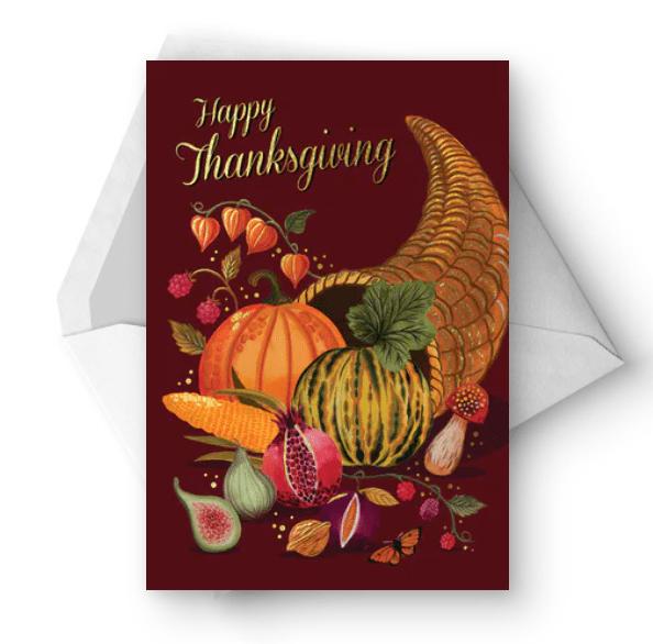 Plenty cornucopia - Thanksgiving Car.