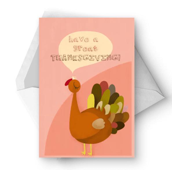 Great Thanksgiving - Thanksgiving Card.