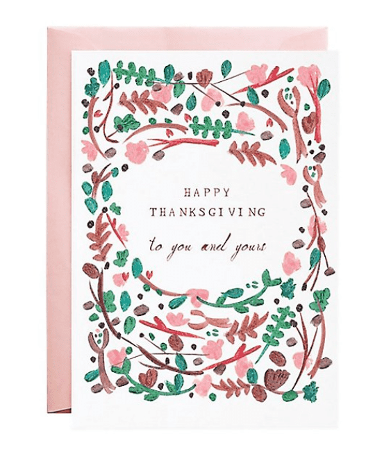 Happy Thanksgiving To You Greeting Card.