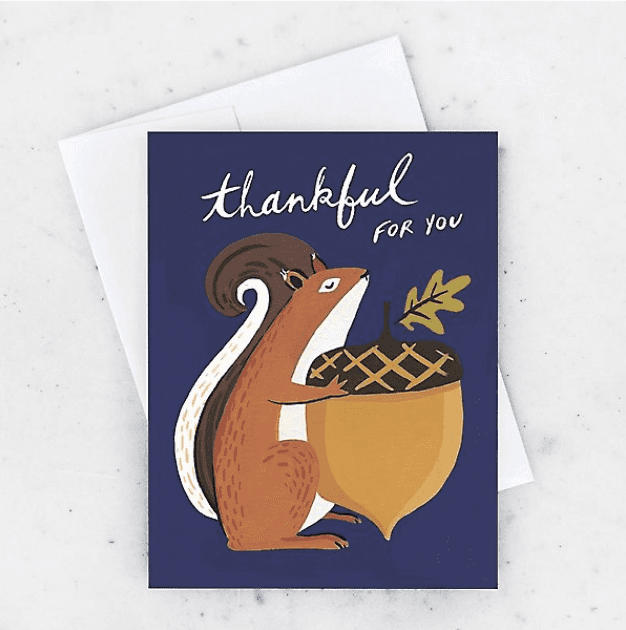 Thankful For You Greeting Card.