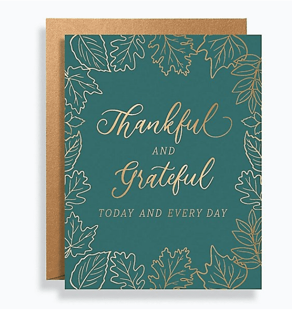 Thankful And Grateful Card Set.