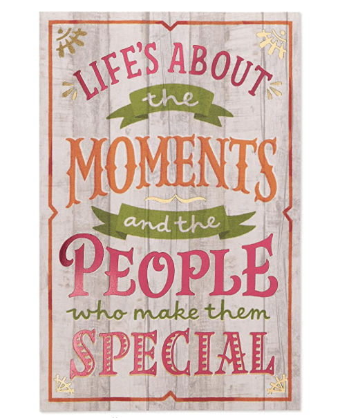 American Greetings Thanksgiving Cards, Moments (6-Count).