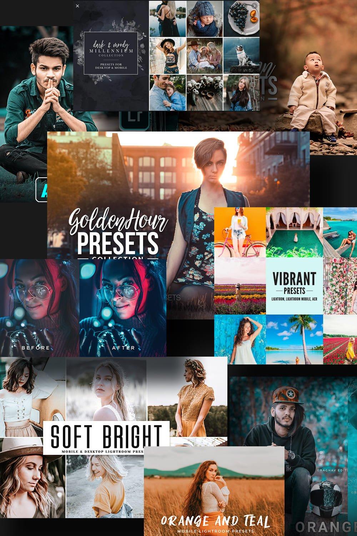 Examples Best Lightroom Presets. Pinterest Image.
