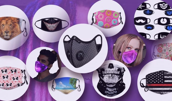 Examples Medical Face Masks With Designs.