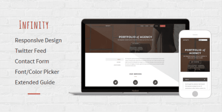 Infinity - Multipurpose Responsive Blogger Template.