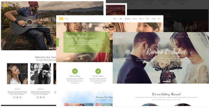 Areda - Responsive Multipurpose Blogger Template.