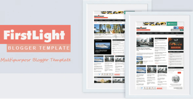 🔥 100+ Free and Premium Blogger Templates 2021 - blogspot template 85