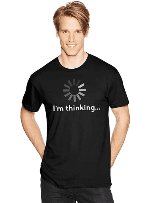 Hanes Men's Humor Graphic T-Shirt.