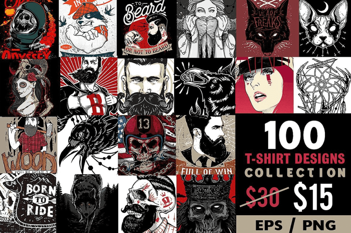 100+ Cool T-shirts For Everyone in 2021 and 30 Best T-shirt Designs For Making Unique Tees - cool t shirt design 1