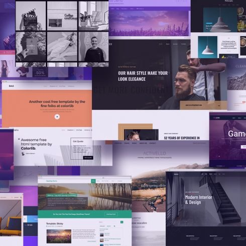 Examples Free Blogger Templates.