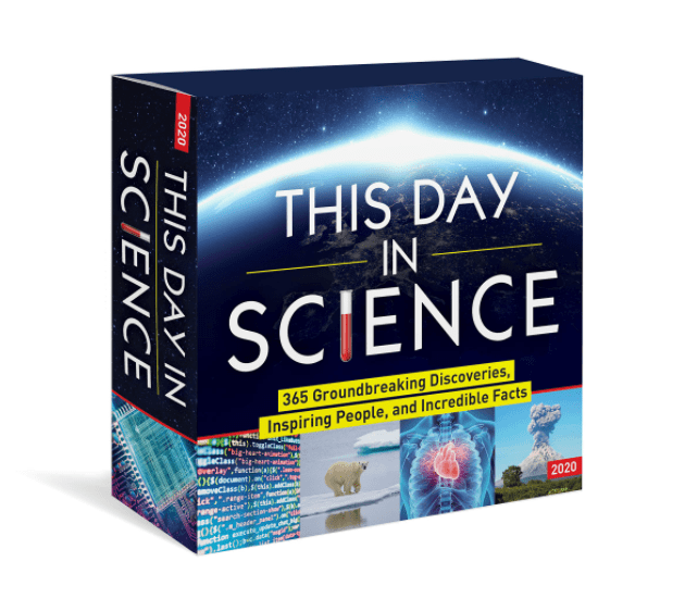 2021 This Day in Science Boxed Calendar: 365 Groundbreaking Discoveries, Inspiring People, and Incredible Facts by Sourcebooks