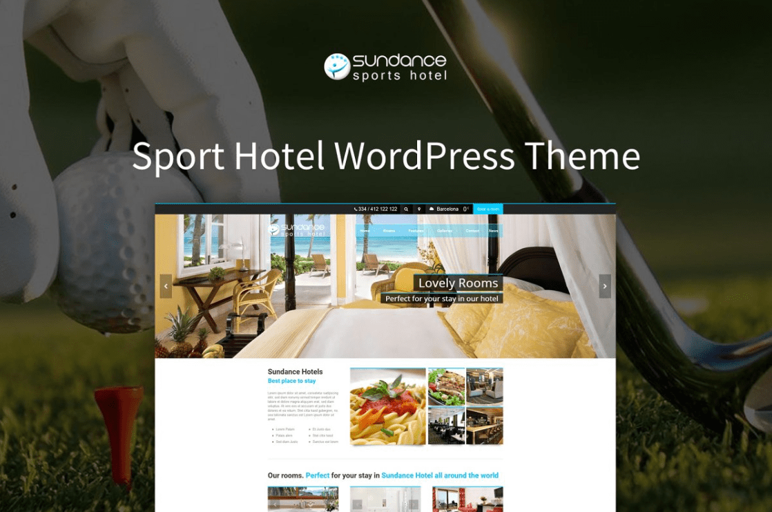 Sundance - Sport Hotel WP Theme by 7Theme