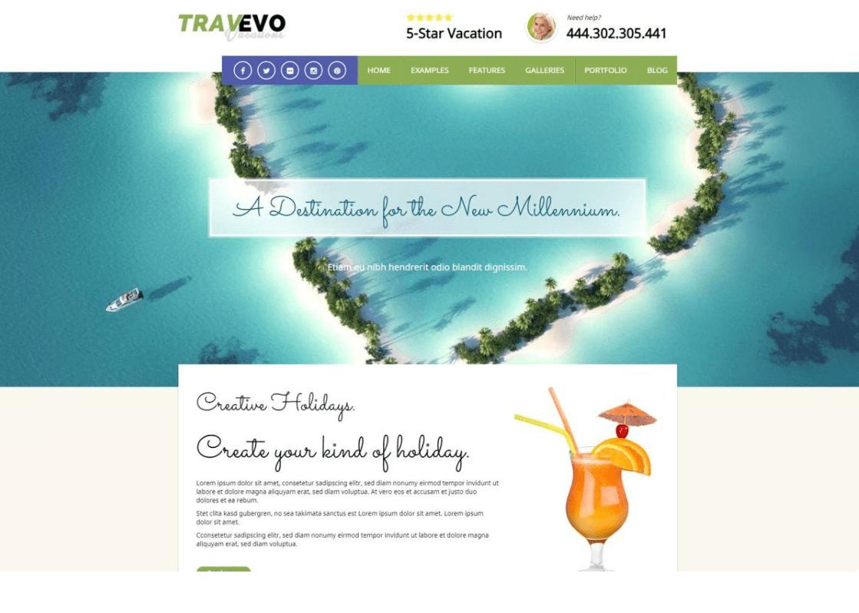 Travevo - Vacation WordPress Theme by 7Theme