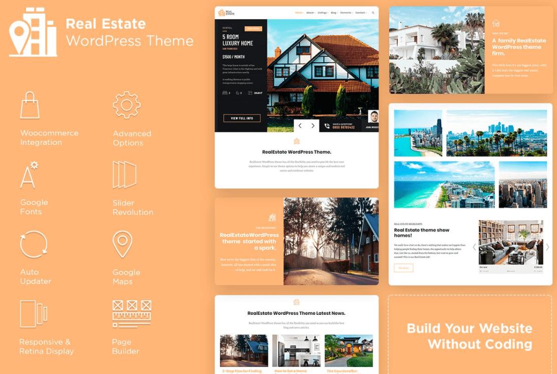 RealEstate WordPress Theme by Visualmodo