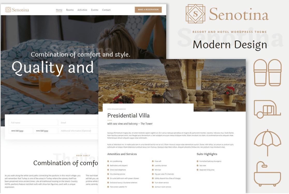 Senotina-Resort & Hotel WP Theme by SkyeyeThemes