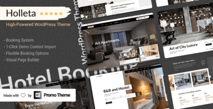 Holleta - Hotel Booking WordPress