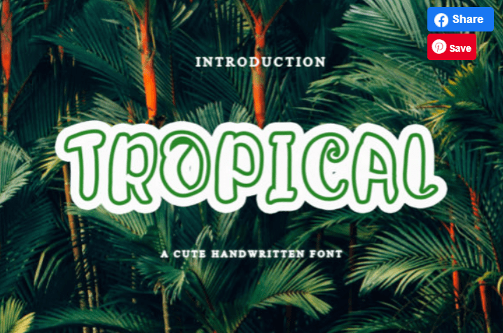 65+ Best Summer & Beach Fonts 2021: Free and Premium Fonts to Make Your Projects Exciting - best beachy font 15