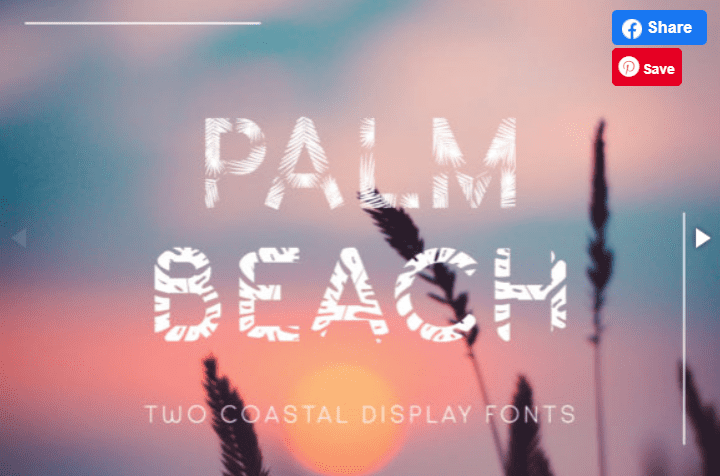 65+ Best Summer & Beach Fonts 2021: Free and Premium Fonts to Make Your Projects Exciting - best beachy font 17