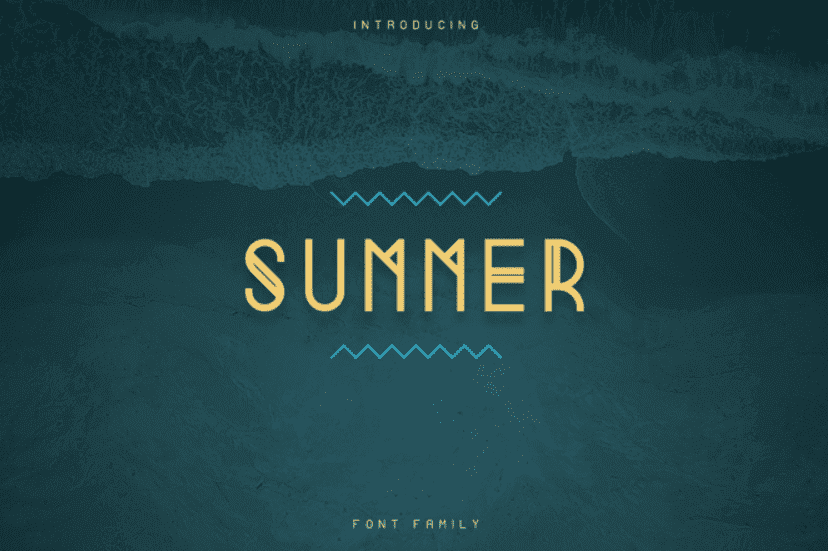 65+ Best Summer & Beach Fonts 2021: Free and Premium Fonts to Make Your Projects Exciting - best beachy font 20