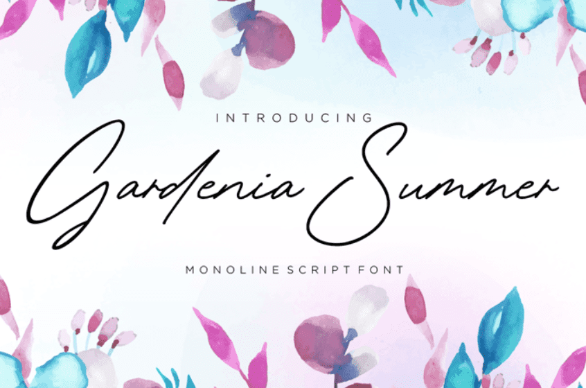 65+ Best Summer & Beach Fonts 2021: Free and Premium Fonts to Make Your Projects Exciting - best beachy font 23