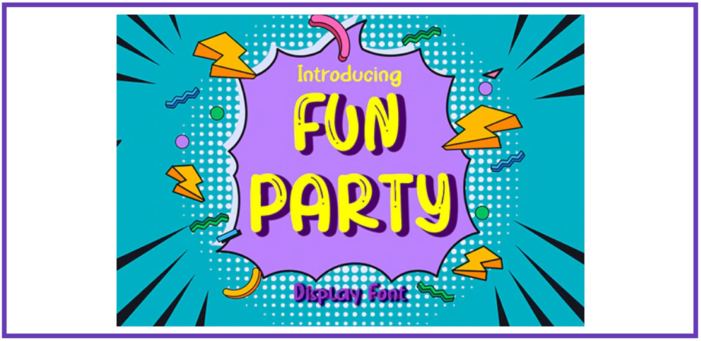 Fun Party. Best Beachy Fonts.