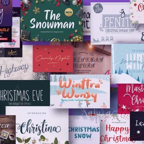 110+ Best Christmas Fonts 2021: Free & Premium