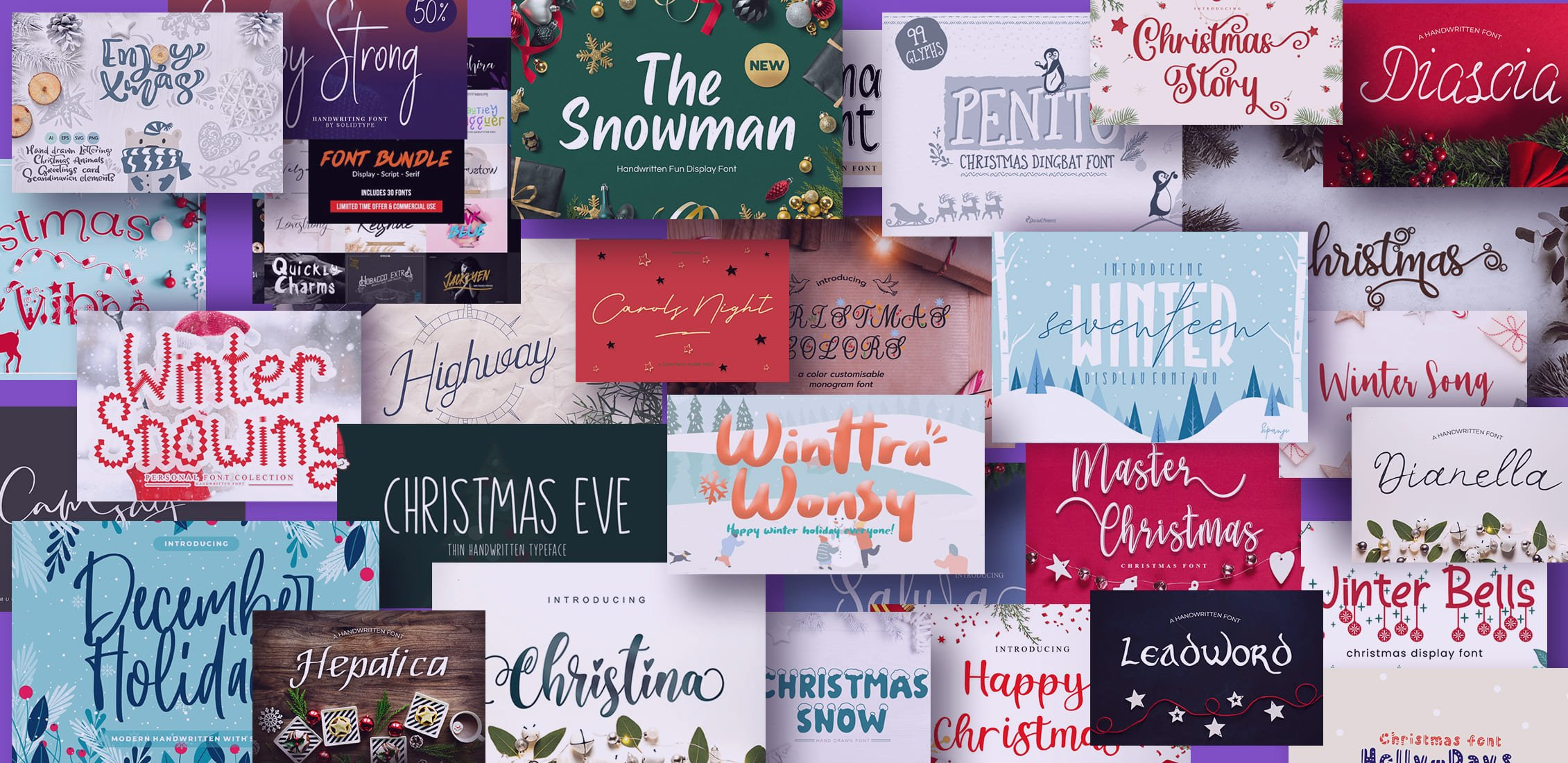 100+ Christmas Clipart Images 2020: Free & Premium - best christmas fonts