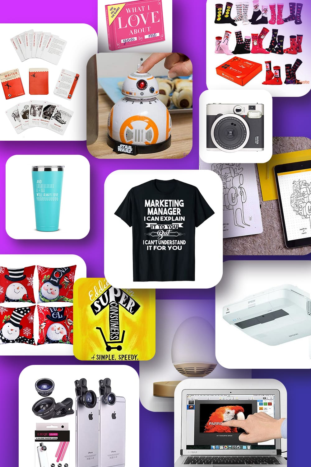 Pinterest Image Best Gifts for Marketers.