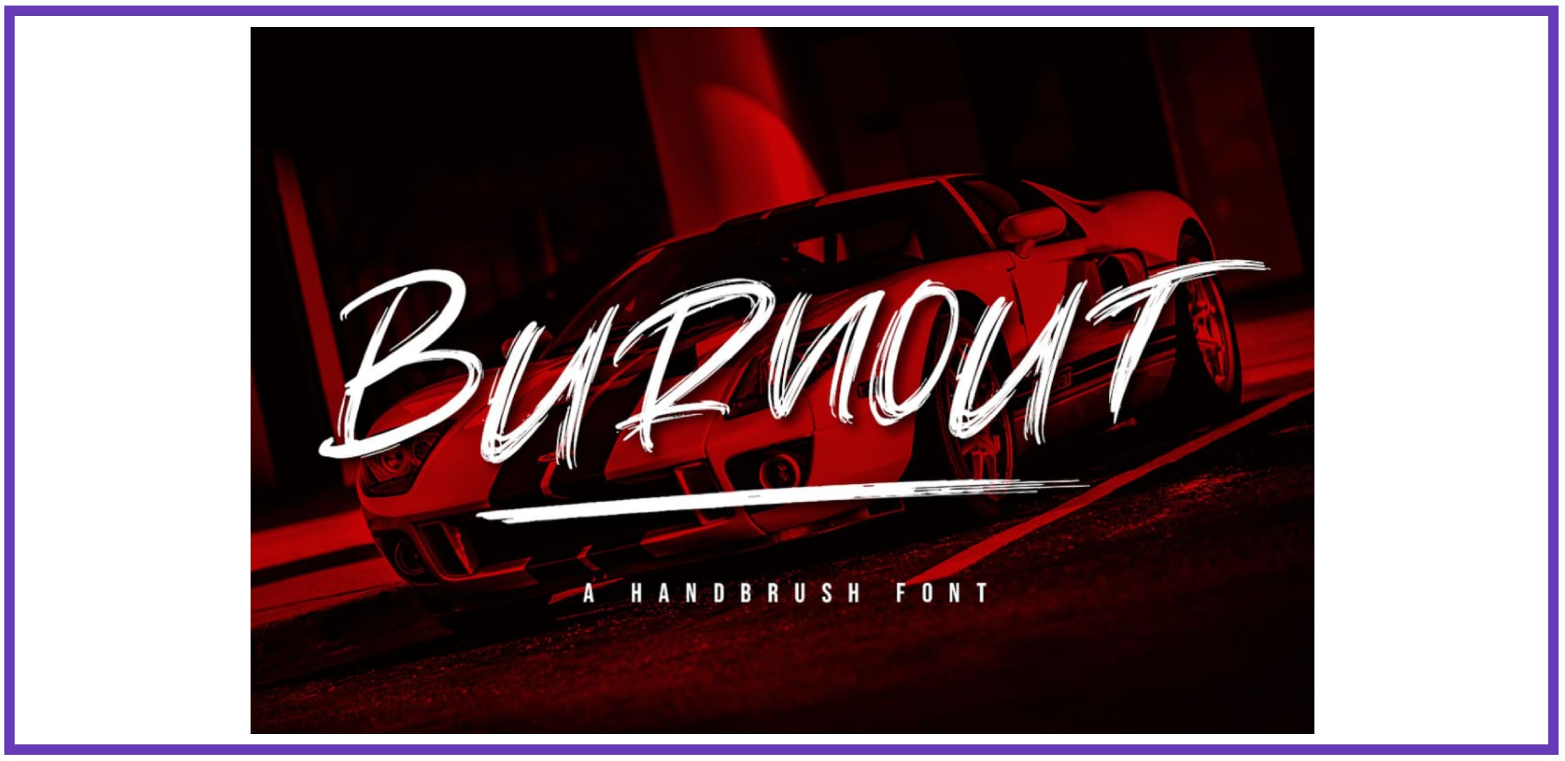 Handbrush Font By Graphue. Best Industrial Fonts.