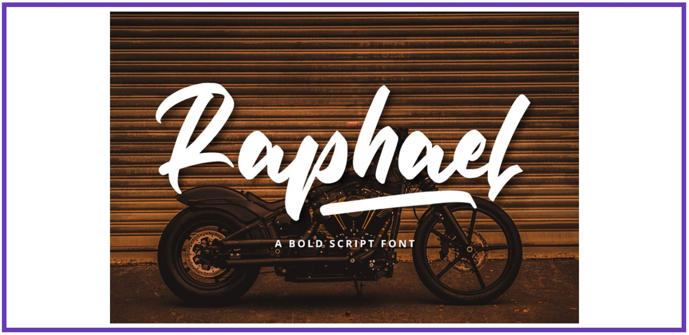 Bold Script Font By Graphue. Best Industrial Fonts.
