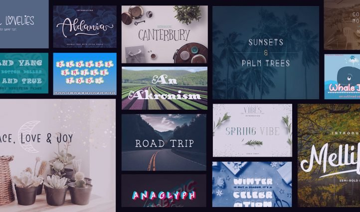 Examples Best Whimsical Fonts.
