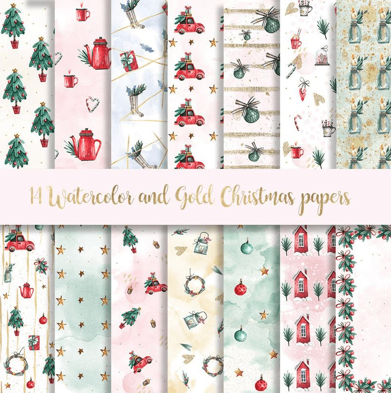 230+ Best Christmas Background Images 2020: Free & Premium - christmas background 20