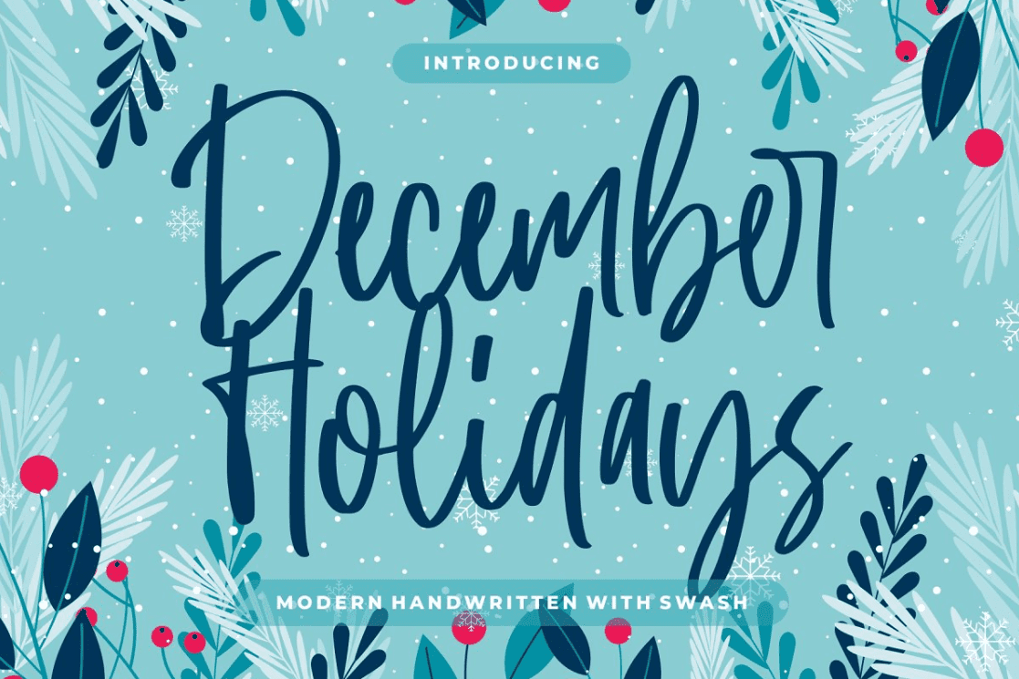 December Holidays By Good Java Studio.