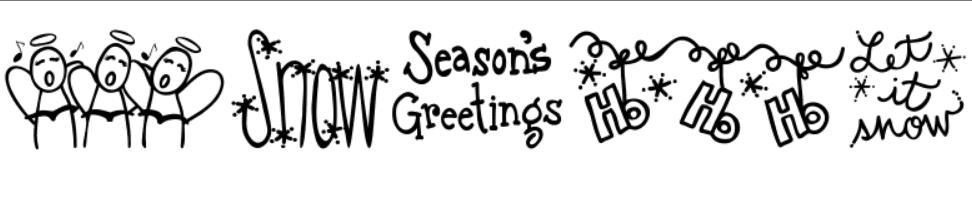 110+ Best Christmas Fonts 2020: Free & Premium - christmas font 26