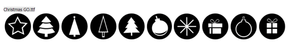 110+ Best Christmas Fonts 2020: Free & Premium - christmas font 34