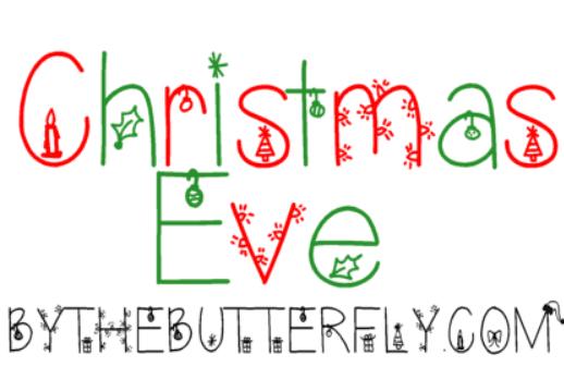 110+ Best Christmas Fonts 2020: Free & Premium - christmas font 35