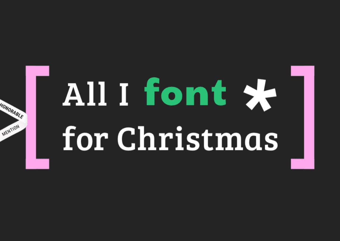 110+ Best Christmas Fonts 2020: Free & Premium - christmas font 38