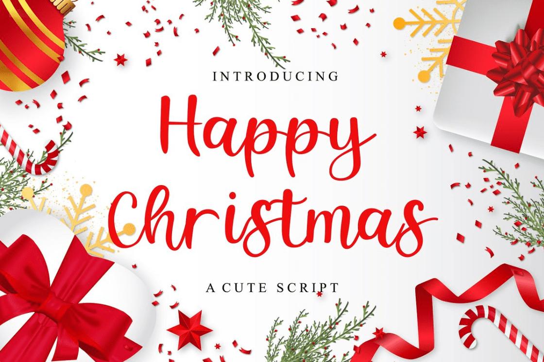 Happy Christmas By Authentic Studio.