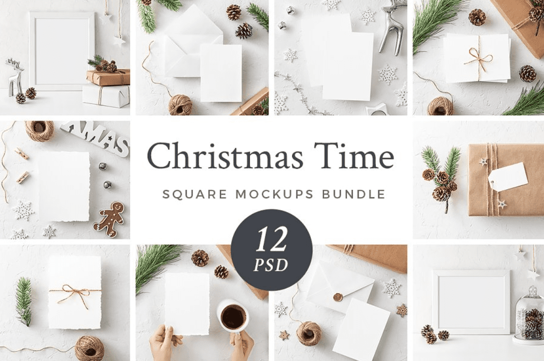 150+ Free Christmas Graphics: Fonts, Images, Vectors, Patterns & Premium Bundles - christmas graphics bundle 7